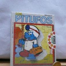 Juguetes antiguos y Juegos de colección: PITUFOS PUZZLE. . Lote 17791739