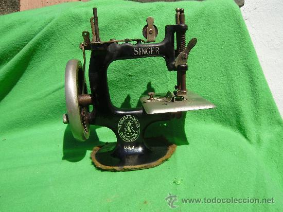 maquina de coser singer.pequeña - Comprar en todocoleccion