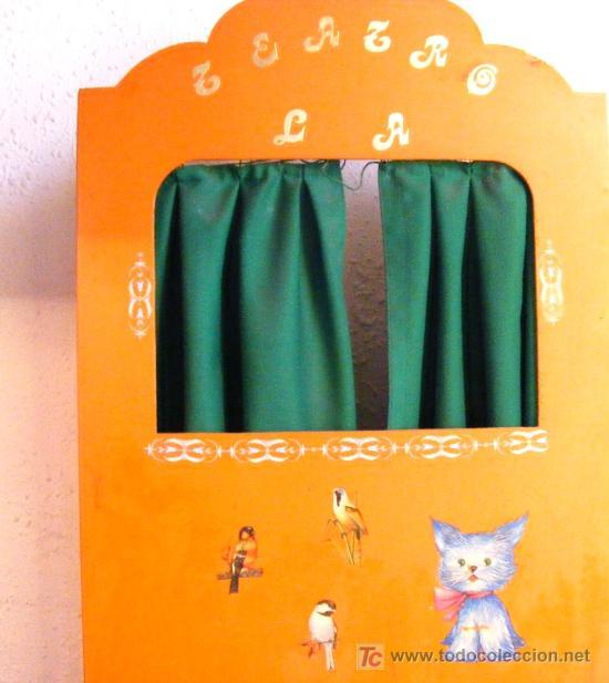 Teatro de marionetas de cart n cool gals - Teatro marionetas ikea ...