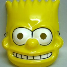 Careta Máscara Burt Simpson disfraz