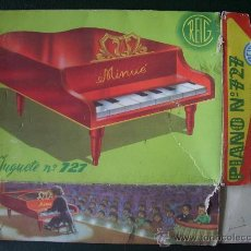 Juguetes antiguos y Juegos de colección: CAJA JUGUETE : PIANO MINUÉ (REIG).. Lote 21631298