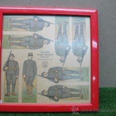 Juguetes antiguos y Juegos de colección: CUADRO MILITAR Nº 4026 PAPER SOLDIERS ITALIAN. Lote 22784802