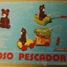 Juguetes antiguos y Juegos de colección: OSO PESCADOR DE PACTRA. Lote 24804920