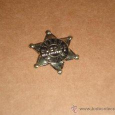 Juguetes antiguos y Juegos de colección: ESTRELLA SHERIFF OESTE. Lote 36448935
