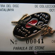 Juguetes antiguos y Juegos de colección: PINS Nº00041 DE 300 -- 10º FIRA DEL DISC DE CATALUNYA - OCT 1994. Lote 23438323