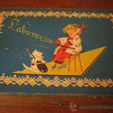 Juguetes antiguos y Juegos de colección: ESTUCHE DE LABORES AÑOS 50. Lote 23627248