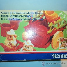 Juguetes antiguos y Juegos de colección: STAR WARS CARRO DE BOMBEROS DE LOS EWOKS, DE KENNER, AÑO 1985.. Lote 45085244