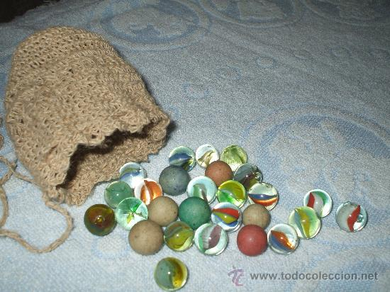 Antigua bolsas de canicas de piedra y cristal comprar for Bolsa de piedras decorativas