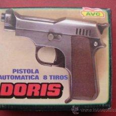 Juguetes antiguos y Juegos de colección: PISTOLA 8 TIROS DORIS - AVC. Lote 24733885