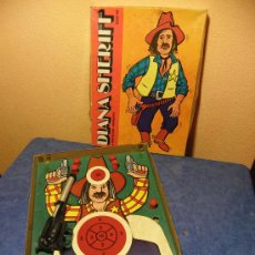 Brinquedos antigos e Jogos de coleção: DIANA SHERIFF CREACIONES LLAMORA BARCELONA AÑOS 70.PISTOLA CON PROYECTILES CON VELCRO. Lote 24788456