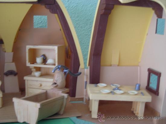 Casa de los enanitos comprar en todocoleccion 26217442 - Casa blancanieves simba ...
