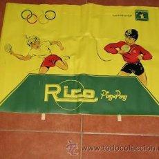 Juguetes antiguos y Juegos de colección: SEPARADOR DE MESA DE PING PONG DE RICO. Lote 26303054