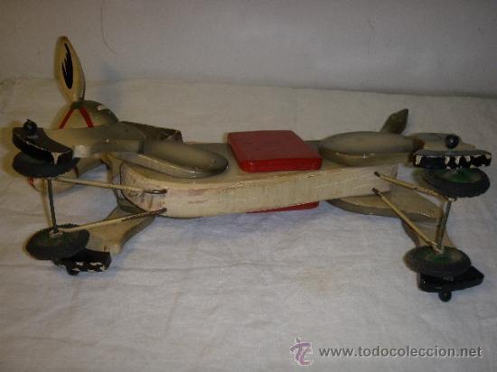 Juguetes antiguos y Juegos de colección: ARRASTRE CON BURRITO DE MADERA DE AÑOS 50 - Foto 7 - 26904197