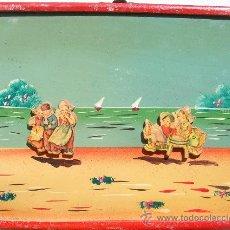 Juguetes antiguos y Juegos de colección: CABÁS,CABAGE,MUY ANTIGUO,,EN RELIEVE,PROCEDE DE BAZAR ANTIGUO,PRECIOSO. Lote 27835100