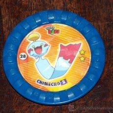 Juguetes antiguos y Juegos de colección: TAZO POKEMON ROKS Nº 28 CHIMECHO. Lote 27303449