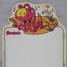 Juguetes antiguos y Juegos de colección: PIZARRA DE SNORKELS,AÑO 1986. Lote 36282468