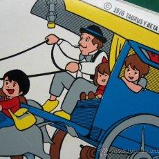 Juguetes antiguos y Juegos de colección: MARCOS PERCHERO DE SERIE TV. MARCOS. 1976 TAURUS Y BETA FILM. EN MADERA Y POLIPIEL. 31X22CM.. Lote 27451962