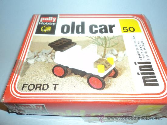 VEHICULO FORD T, OLD CAR DE POLLYHOBBY. (Juguetes - Varios)