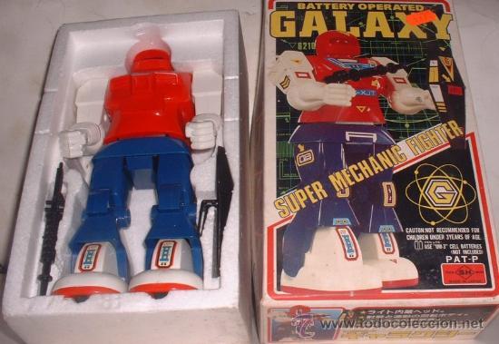 ROBOT GALAXY, EN CAJA. CC (Juguetes - Varios)