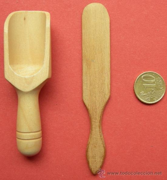 2 utensilios de cocina antiguos elaborados en m - Comprar en ...