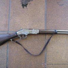.escopeta winschester de petardos marca gonher funcionando sufrida ver fotos