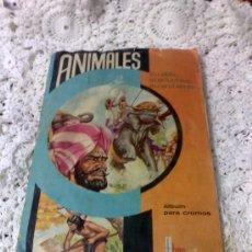 Juguetes antiguos y Juegos de colección: AÑO 1964.---ANIMALES.---- ÁLBUM DE CROMOS. Lote 28265058