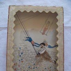 Juguetes antiguos y Juegos de colección: AUTOMATA TRAPECISTA DEL SIGLO XIX JOYA DEL COLECCIONISMO. Lote 28942858