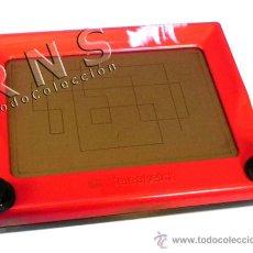 Juguetes antiguos y Juegos de colección: TELESKETCH - JUGUETE PARA DIBUJAR - BORRAS - HECHO EN ESPAÑA - TELE SKETCH CLÁSICO VINTAGE RETRO. Lote 29372342