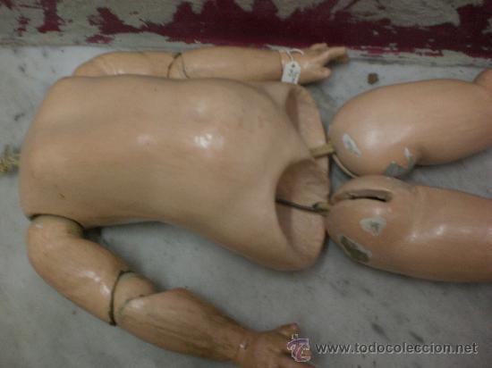 Juguetes antiguos y Juegos de colección: cuerpo de muñeca Jumeau - Foto 2 - 30510206