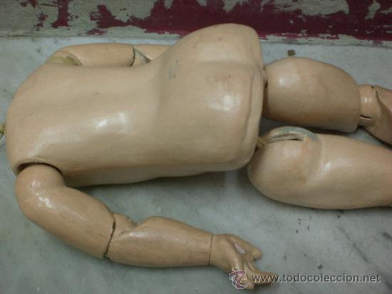 Juguetes antiguos y Juegos de colección: cuerpo de muñeca Jumeau - Foto 4 - 30510206
