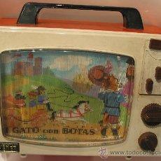 Juguetes antiguos y Juegos de colección: TELEVISOR MARCA JUGUETES FEBER. Lote 30694204