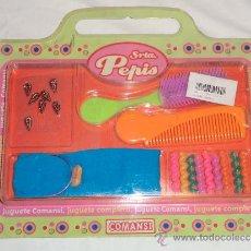 Juguetes antiguos y Juegos de colección: BLISTER CABELLO SRTA. PEPIS - COMANSI. Lote 30708747