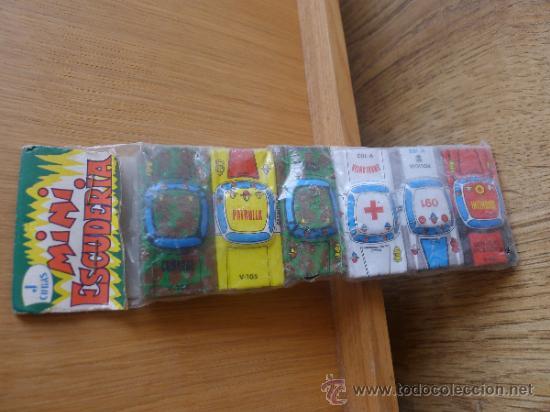Juguetes antiguos y Juegos de colección: Mini escuderia Coches de ojalata de juguete , sin estrenar - Foto 2 - 31772391