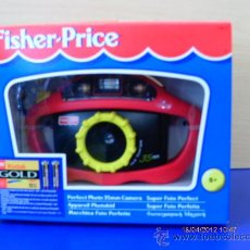 Juguetes antiguos y Juegos de colección: CÁMARA DE FOTOS PARA CARRETE.FISHER-MATTEL AÑO 1997.NUEVA EN CAJA.. Lote 31345977