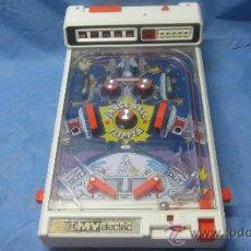 Juguetes antiguos y Juegos de colección: ANTIGUO FLIPPER PINNGG BALL TOMY ELECTRIC COUNTER RESET POWER. Lote 31870999