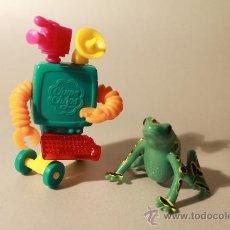 Juguetes antiguos y Juegos de colección: 2 FIGURAS PORMOCIONALES CHUPA CHUPS, MINIATURAS. Lote 31980408
