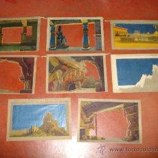 Juguetes antiguos y Juegos de colección: TELONES LA ESTRELLA DE LOS REYES MAGOS DE EL TEATRO DE LOS NIÑOS DE SEIX Y BARRAL . AÑO 20-30S.. Lote 32268808