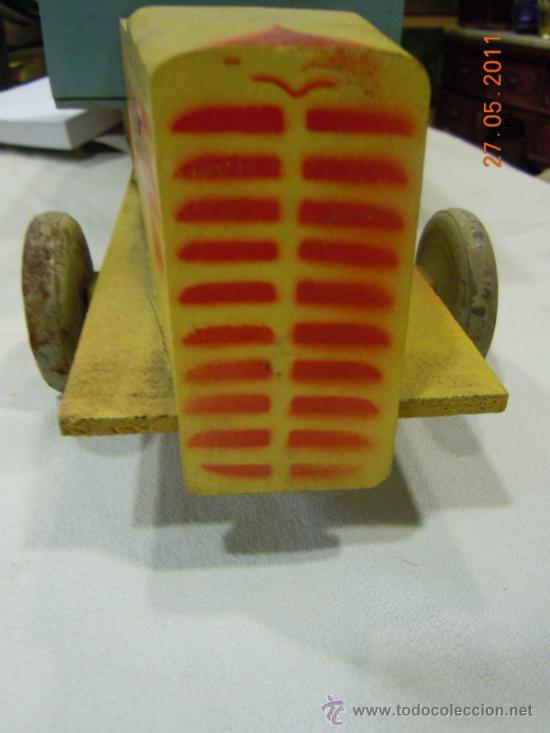 Juguetes antiguos y Juegos de colección: CAMION DE MADERA ANTIGUO 48 CM. LARGO - Foto 5 - 32028545