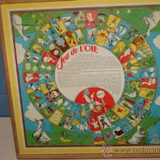 Juguetes antiguos y Juegos de colección: ANTIGUO JUEGO DE LA OCA. Lote 32787873