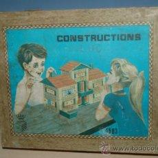 Juguetes antiguos y Juegos de colección - antiguo juego de construccion años 50 - 32788241