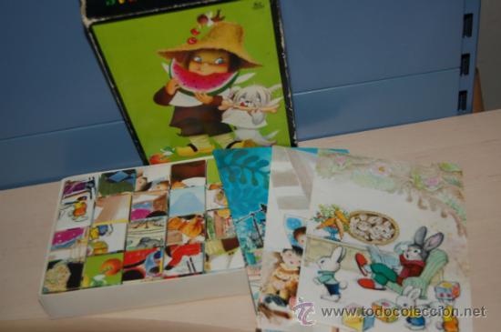 Juguetes antiguos y Juegos de colección: rompecabezas de cubos de ferrandiz - Foto 4 - 32788258