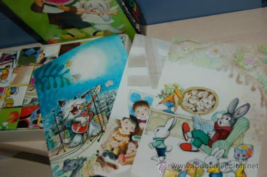 Juguetes antiguos y Juegos de colección: rompecabezas de cubos de ferrandiz - Foto 3 - 32788258