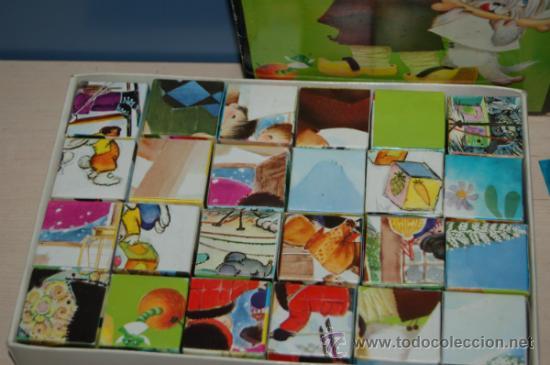 Juguetes antiguos y Juegos de colección: rompecabezas de cubos de ferrandiz - Foto 2 - 32788258