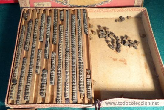 Juguetes antiguos y Juegos de colección: IMPRENTILLA INFANTIL CON CAJA DE CARTON - Foto 2 - 33085940