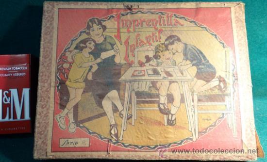 Juguetes antiguos y Juegos de colección: IMPRENTILLA INFANTIL CON CAJA DE CARTON - Foto 6 - 33085940