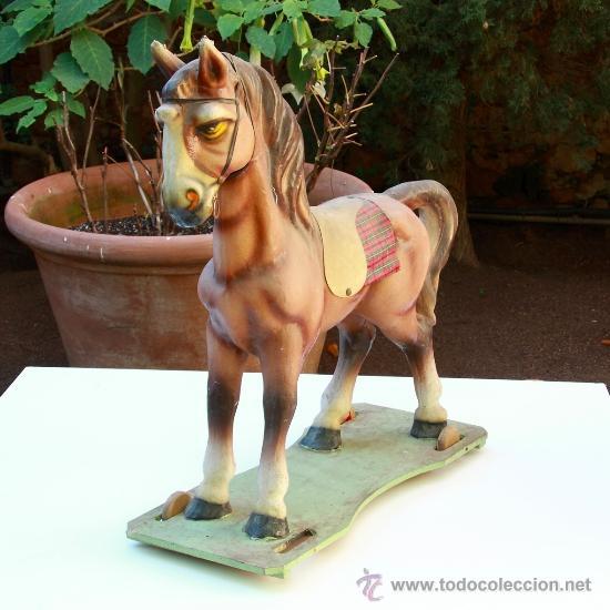 Juguetes antiguos y Juegos de colección: Antiguo Caballo parece de Antonio Penas Sardá - Foto 2 - 33262328