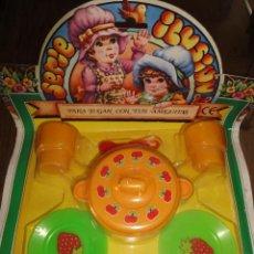 Juguetes antiguos y Juegos de colección: VAJILLA KIOSKO. Lote 33304897