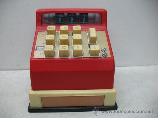 Juguetes antiguos y Juegos de colección: MOLTO REF: 323 - Caja registradora de juguete - Foto 2 - 33415955