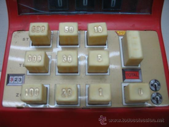 Juguetes antiguos y Juegos de colección: MOLTO REF: 323 - Caja registradora de juguete - Foto 3 - 33415955