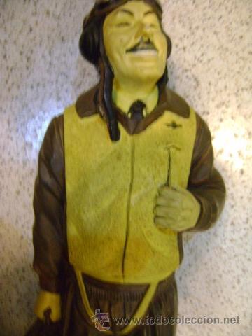 aaf15031ff figura aviador pasta rígida 26 cm [c0l] - Comprar en todocoleccion ...